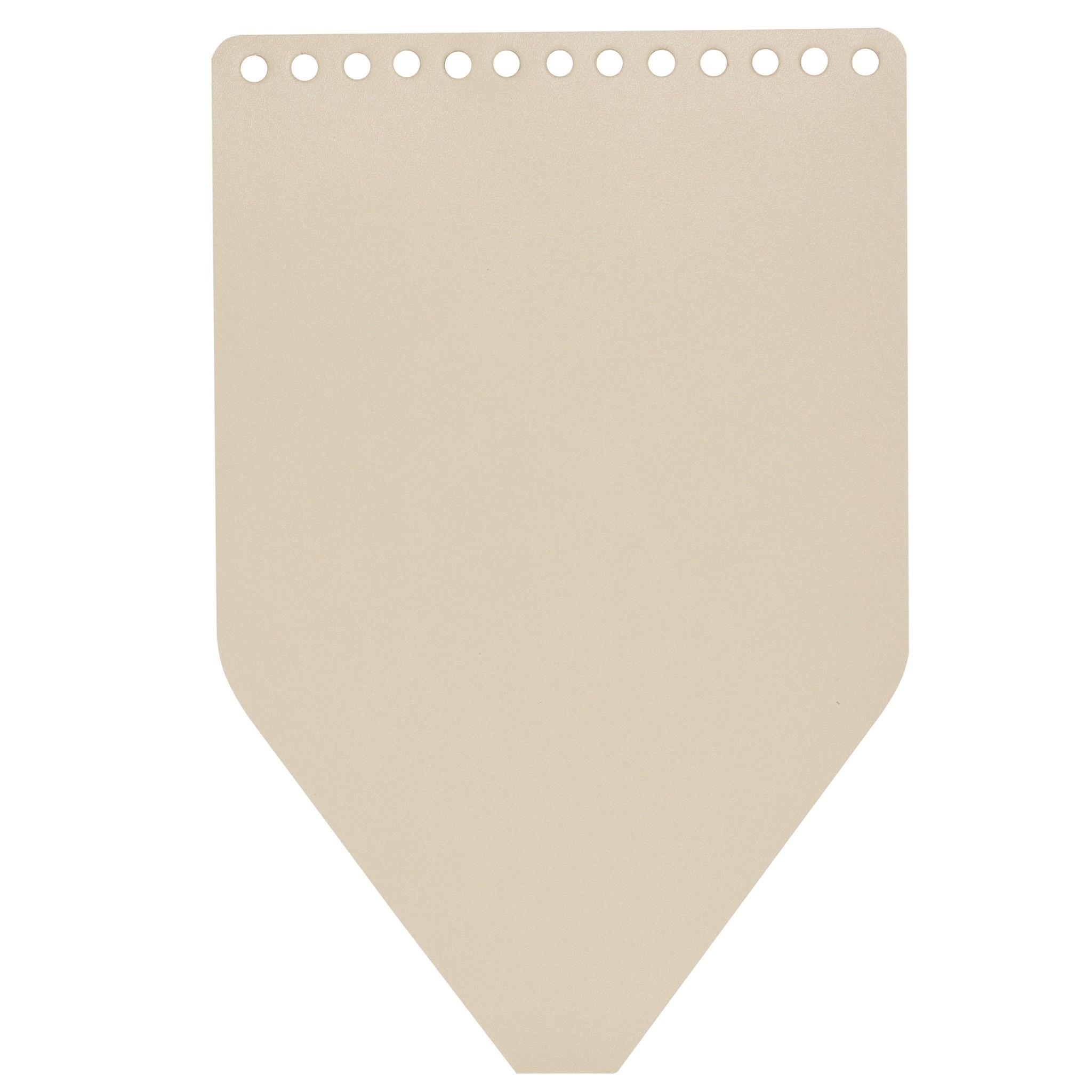 Вся фурнитура Клапан для рюкзачка кожаный Кремовый IMG_1997.jpg