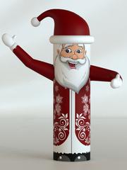 Дед Мороз экспресс дизайн (машет рукой)