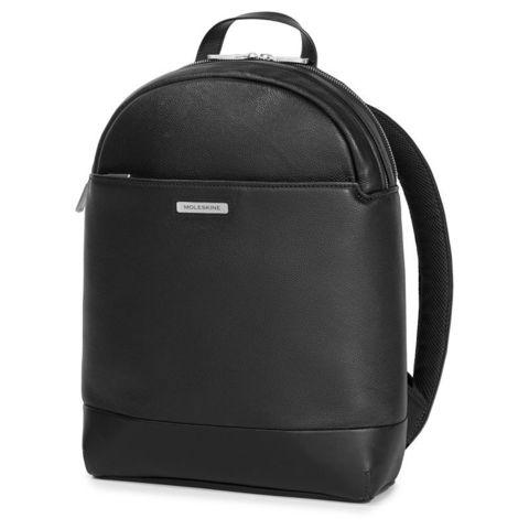Рюкзак Moleskine Classic Leather ET84CMRTBK13BK черный кожа