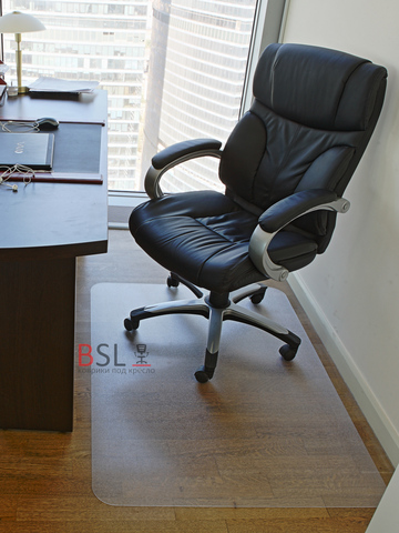 Защитный коврик под кресло 1000x1200 мм шагрень
