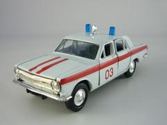 GAZ-2401 Volga Ambulance 1:43 Agat Mossar Tantal