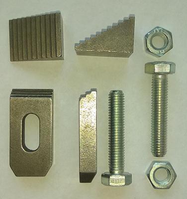 INS653. Ступенчатый винтовой зажим для станочных механических двухкоординатных столов