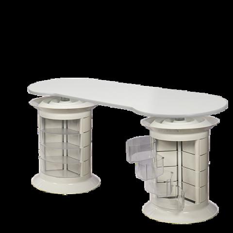 Маникюрный стол GiroCo Grande Plus white