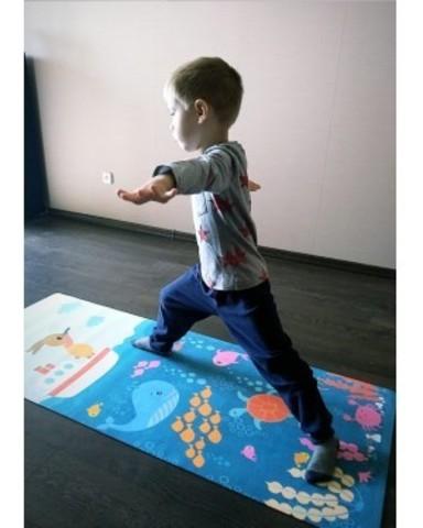 Детский коврик Ocean 152*61*0,3 см из микрофибры и каучука