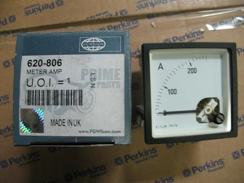 Амперметр 0-250А / METER AMP D72 5A CT АРТ: 620-806