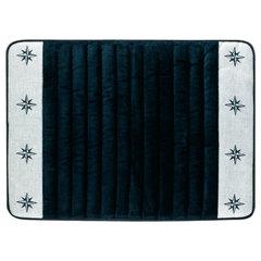 Freestyle blue navy non-slip bathmat 60×45