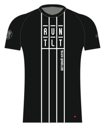 Футболка клубная GRi runtlt, черная, мужская