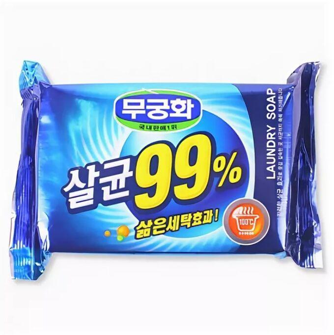 Mukunghwa Мыло хозяйственное 99%  Mukunghwa Sterilization Laundry Soap 230 гр 432078362.jpg
