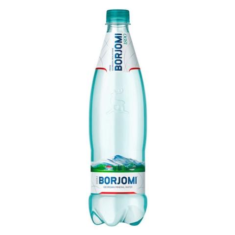 Вода минеральная лечебно-столовая BORJOMI газ 0,75 л пл/б ГРУЗИЯ