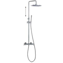 Душевая система с термостатом и тропическим душем для ванны DRAKO 335403RM250