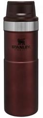 Термокружка Stanley Classic 0.47L One hand 2.0 Бордовая