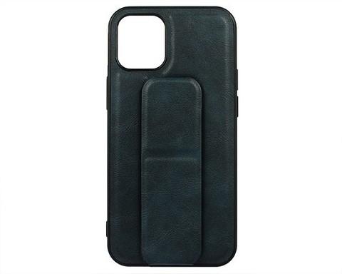 YASHI / Чехол для iPhone 12 Mini искусственная кожа | с держателем синий