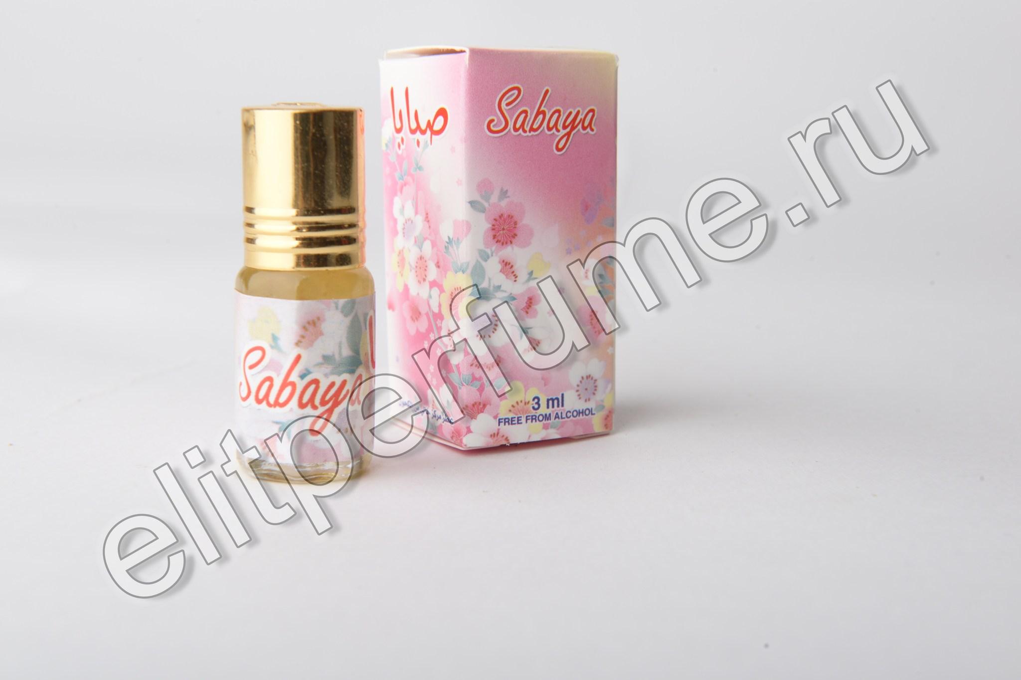 Sabaya 3 мл арабские масляные духи от Захра Zahra Perfumes