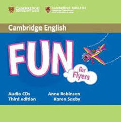 Fun for Starters, Movers and Flyers 3Ed Flyers Aud CDs (2) !!