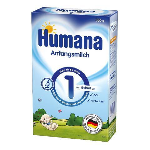Смесь Humana 1 с 0-6 мес 300г