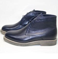 Ботинки мужские зимние кожаные Ikoc 004-9 S