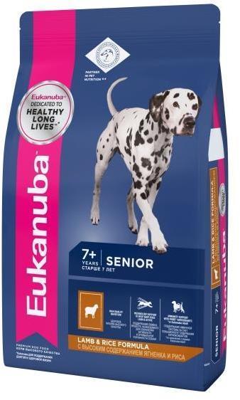 Eukanuba Корм для пожилых собак всех пород, Eukanuba Dog MEDIUM SENIOR L&R, с ягненком и рисом 10127672.jpg