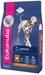Корм для пожилых собак всех пород, Eukanuba Dog MEDIUM SENIOR L&R, с ягненком и рисом