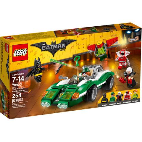 LEGO Batman Movie: Гоночный автомобиль Загадочника 70903 — The Riddler Riddle Racer — Лего Бэтмен Муви