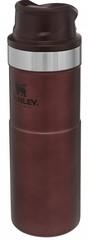 Термокружка Stanley Classic 0.47L One hand 2.0 Бордовая - 2