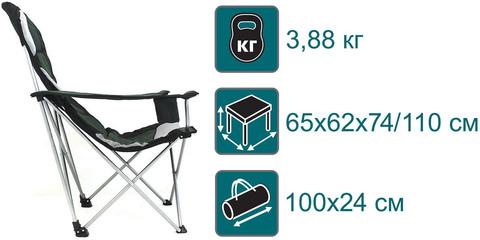 Кресло складное Canadian Camper CC-128, схема.