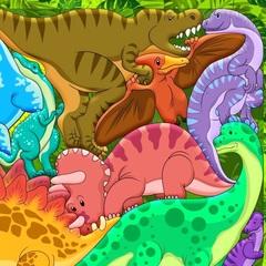 Зоопазл Динозавры
