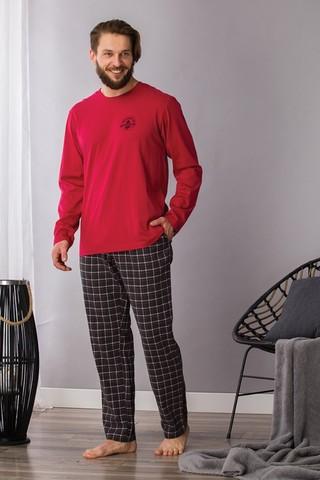 Пижама мужская со штанами KEY MNS 432 B21