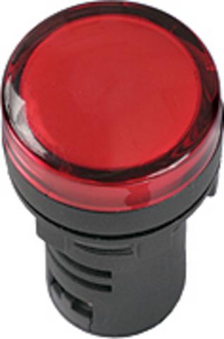 Лампа AD-22DS(LED)матрица d22мм синий 36В AC/DC TDM