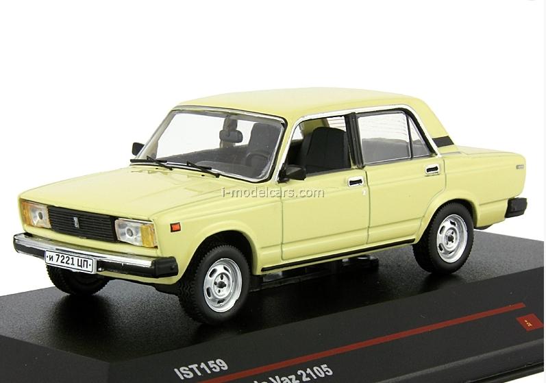 Lada 2105 gelb 1981-1:43 IXO   *NEW*