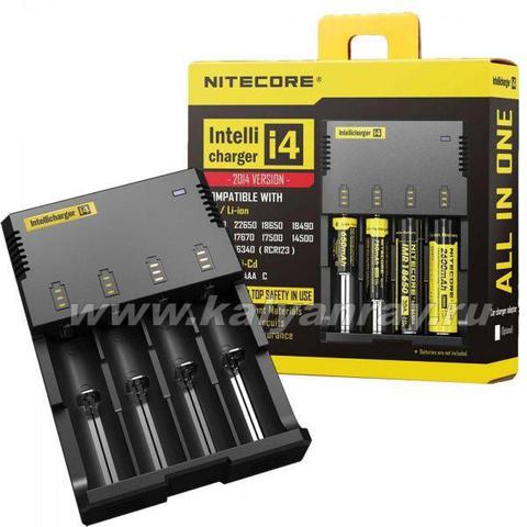 Зарядка Nitecore Intellicharger I4 Charger
