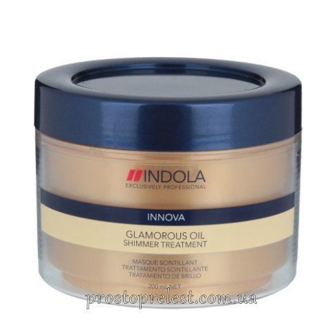 Indola Innova Glamorous Oil Shimmer Treatment - Маска для гладкості і блиску