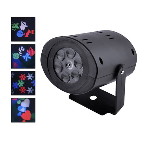 Лазер диско W-665 RGB, 12LED, 220V