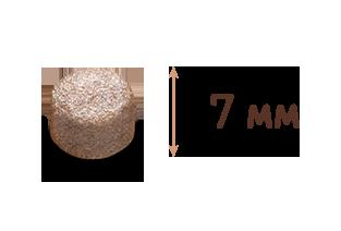 гранула сухой корм One Only для стерилизованных кошек с индейкой