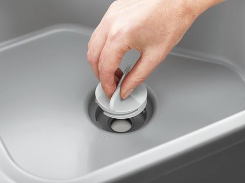 Контейнер для мытья посуды Duo со сливным отверстием