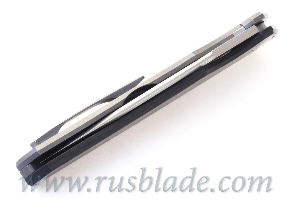 Cheburkov Hudson Semi Custom M390 marble CF - фотография