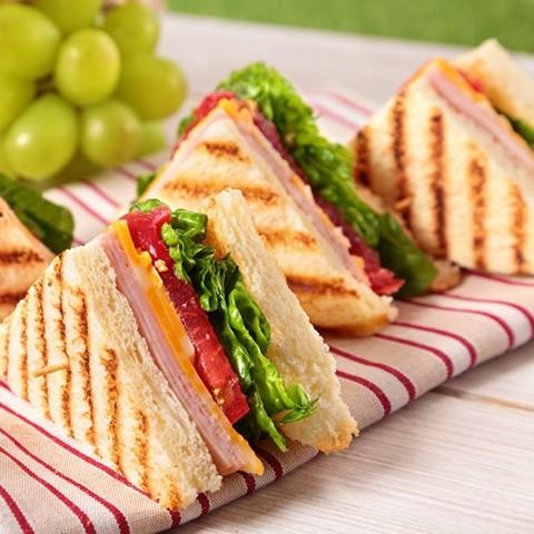Клаб сендвич с ветчиной