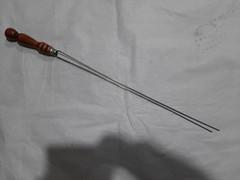Шампур нерж сталь Вилка ручка пруток 3*50 мм 1 сорт