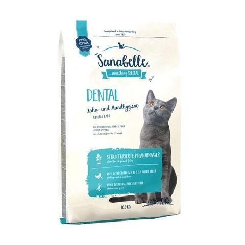 10 кг. BOSCH SANABELLE NEW Сухой корм для кошек для профилактики заболеваний зубной системы Dental