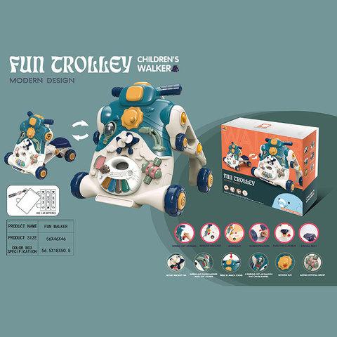 Каталка для малышей, развивающая (в коробке), 653
