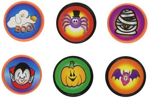 Halloween Stampers  6 Assorted Designs