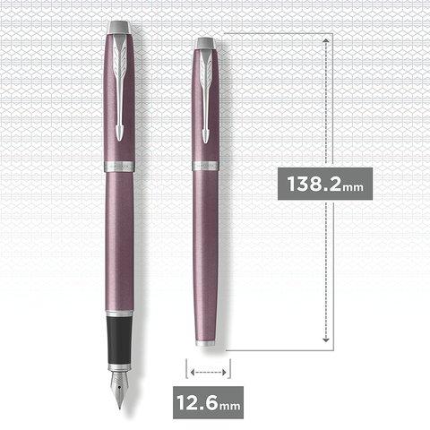 Перьевая ручка Parker IM Metal Light Purple CT123