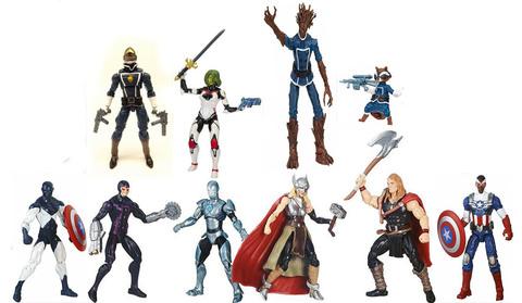 Марвел Легенд набор фигурок с комиксами Серия 3
