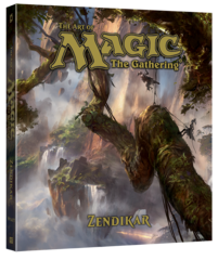 Артбук Magic: The Gathering - Zendikar (английский)