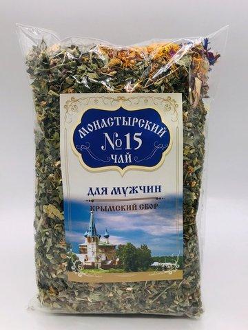 Чай Монастырский №15 для мужчин, 100 гр. (Крымский сбор)