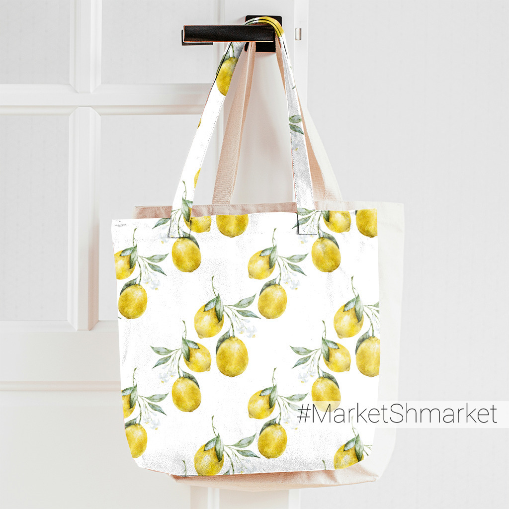Лимоны на белом фоне
