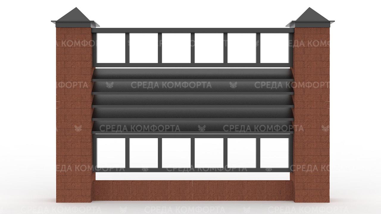 Забор жалюзи ZBR0130