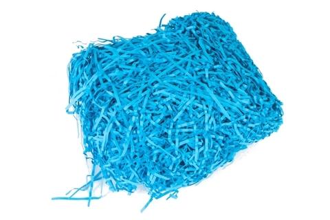 Наполнитель бумажный 50г синий (упак.)