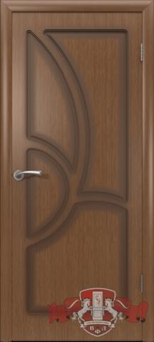 Дверь Владимирская фабрика дверей 9ДГ3, цвет орех, глухая