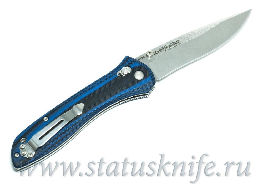 Нож Benchmade McHenry & Williams 710-1401 M390 - фотография