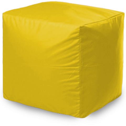 Пуфик «Куб», Желтый